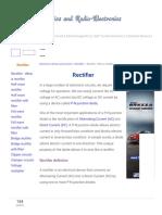 Rectifier - What is Rectifier - Types of Rectifier.pdf
