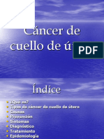 cancer de cuello d utero