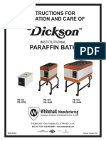 6900-189-000 Dickson Paraffin Bath