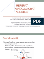 farmakologi pada anestesi
