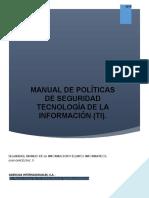 Manual de Politicas de Seguridad Ti Aica