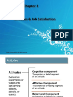 Ch 3,  Attitudes & Job Satisfaction