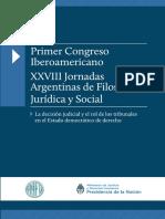 Primer Congreso Iberoamericano XXVIII Jornadas Argentinas Filosofia
