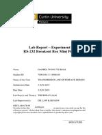 TID MiniLab Report