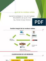 Gestión Integral de Los Residuos Solidos
