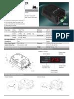 Cargador de Baterias Mc Pherson Ch4612_24 12v - 24v