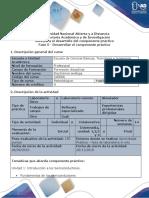 Guía para el desarrollo del componente práctico - Fase 5 - Desarrollar el componente práctico
