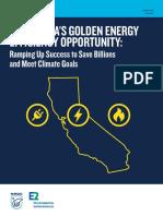CA Energy Efficiency Opportunity Report