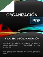 7. Organización
