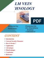 biometric vein technology
