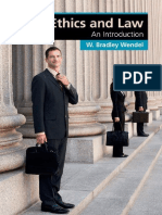(Cambridge Applied Ethics) W. Bradley Wendel - Ethics and Law_ an Introduction-Cambridge University Press (2014)