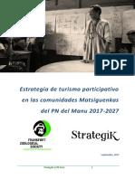 Estrategia de Turismo PNM - OBS 26.09.17
