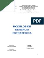 Modelos de Gerencia