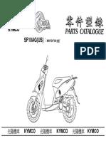 Kymco Topboy Parts Manual