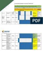 Cronograma de Actividades para el sistema de gestión de seguridad y salud en el trabajo