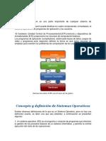 Principios Básicos de los sistemas operativos