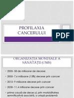 7.Preventia Si Profilaxia Cancerului 2017