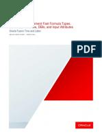 Workforce Management (WFM) Fast Formula General Information