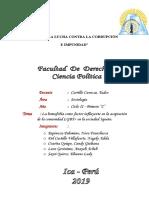 Monografia Investigación Sociológica Oficial