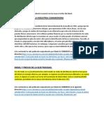 como se vera afectada la industria en ecuador por quita de subsidios