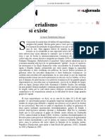 La Jornada_ El Imperialismo Sí Existe