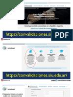 Convalidación Titulos Venezolanos Paso a Paso 02-09-2019