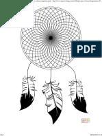 Dibujo de Atrapasueños para colorear 2_ Dibujos para colorear imprimir gratis.pdf