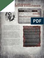 Cawdor Headsman PDF 1