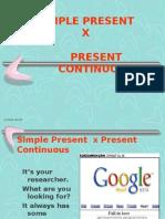 Inglês PPT - Integral - Simple Present X Present Continuous