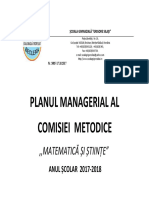 Plan Managerial MATE