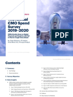 CMO Spend 2019 2020 Research