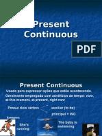 Inglês PPT - Integral - Present Continuous