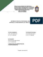 Modelo Informe de Pasantía Herrera Lic. en ADyGM 2019