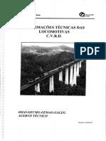 Informações Técnicas Das Locomotivas C.v.R.D