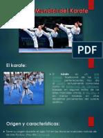 Historia Mundial Del Karate