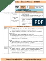 .ArchivetempAgosto - 2do Grado Conocimiento Del Medio (2019-2020)