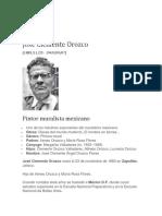 Biografia Jose Clemante Orozco