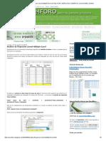 Análisis de Regresión Lineal Múltiple-excel _ Excel Foro_ Ejercicios, Ejemplos, Soluciones, Dudas