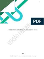 Currículo e Referencial do Mato Grosso do Sul