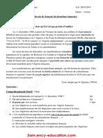 dzexams-3am-francais-d2-20190-415519