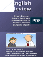 Inglês PPT - Integral - English Review I