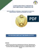 Bases Para El Proceso de Asimilacin de Profesionales y Tcnicos Como Oficiales y Suboficiales de Servicios de La Fuerza Aerea Modificando Plazas2