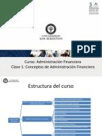 Clase 1 Administración Financiera