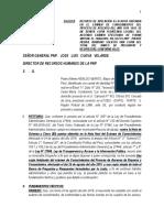 Apelación examen ascenso pnp