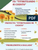 Proyecto Títeres - 02-10-2019