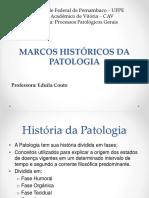 Aula 2 Marcos Históricos Da Patologia