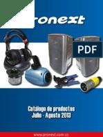 Catalogo Productos Electronicos Julio Agosto 2013