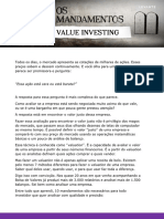 Os 10 Mandamentos Do Value Investing