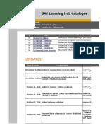 Learning Hub Catalogue