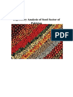Expository Analysis of Seed Sector of Pakistan
